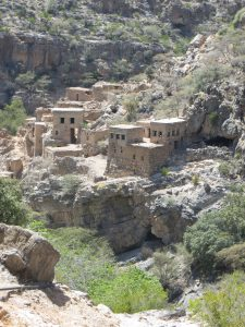 Al Ain Ross village nestled in the mountains, Jebel Al Akhdar
