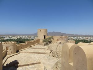 A view of the upper floor of Nakhl fort